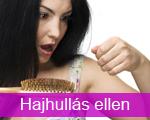 hajhullás kezelés